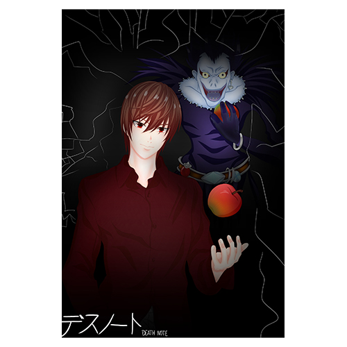 Puzzle Anime Death Note Light