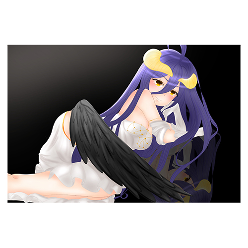 Puzzle Anime Overlord Albedo